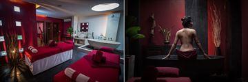 Heritage Suites Hotel, Spa Treatment Room and Bathtub