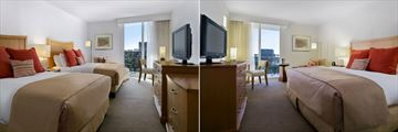 Hilton Clearwater Beach Resort & Spa, Two Double Beds Gulf View and One King Bed Gulf View