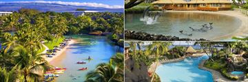 Salt Water Lagoon, Dolphin Quest Village and Pool Kona at Hilton Waikoloa Village