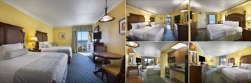 Lowrise Oceanfront Efficiency Room, Tower Oceanfront Suite, Tower King Oceanfront Suite, Lowrise Oceanview Efficiency and Tower Oceanfront King Efficiency Room at Holiday Inn At The Pavilion