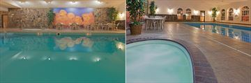 Indoor Pool and Hot Tub at Holiday Inn Express Hotel & Suites Keystone