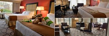 Holiday Inn Montreal Centreville Downtown, Twin Room, Guest Room with Balcony and Presidential Suite