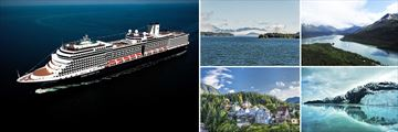 Holland America's Nieuw Cruise Ship & Alaska Destinations: Inside Passage, Juneau, Ketchikan & Glacier Bay