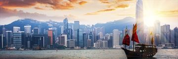 A view of Hong Kong's skyline