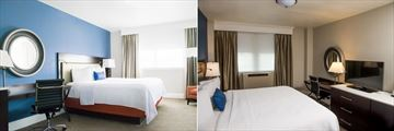 Junior Suite and King Room at Hotel Alex Johnson
