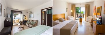 Junior Suite and Double Room at Hotel Bendinat, Mallorca