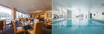 Hotel Gouverneur Place Dupuis, Le Vignoble Restaurant and Indoor Pool