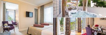 Junior Suite, Executive Suite and Emperor Suite at Hotel Park