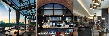 Man Tao, Brasserie 25 and The Snug at Hotel Stripes Kuala Lumpur