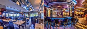 Hotel Universel Riviere-du-Loup, La Verriere and Le Rialto Restaurant