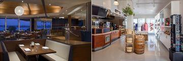 Hyatt Regency Mission Bay, Red Marlin Restaurant & Terrace and Market Mission
