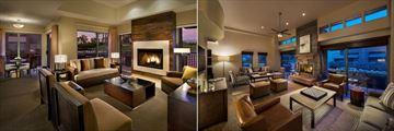 Hyatt Regency Scottsdale Resort & Spa at Gainey Ranch, Casita Suite Living Room and Gainey House Living Room