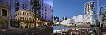Exterior Views of the Hyatt Regency Sydney