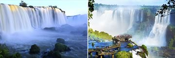 Phenomenal Scenery of Iguazu Falls