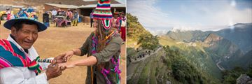 Kusimayo dancing ceremony, and hiking the Inca Trail. Copyright: Intrepid