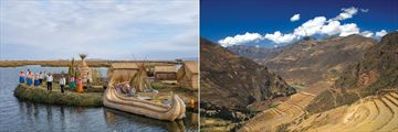 Being welcoming to Pomo (left), and Sacred Valley (right). Copyright: Intrepid