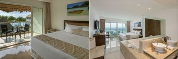 Isla Mujeres Palace, Superior Deluxe Ocean View Room and Concierge Level Room