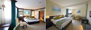 JA Jebel Ali Beach Resort Hotel, Superior Room and Garden View Room