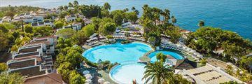 Aerial view of Hotel Jardin Tecina