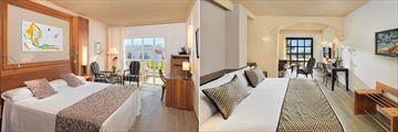 Comfort Room and Junior Suite at Hotel Jardines De Nivaria