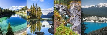 Jasper Maligne Lake, Spirit Island, Canyon & Lake Louise Fairmont Chateau