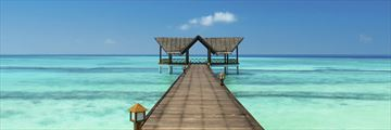 Maldivian jetty