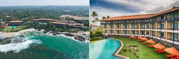 Jetwing Lighthouse, Galle, Aerial View of Hotel and Poolside