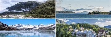Juneau, Inside Passage, Glacier Bay & Ketchikan, Alaska