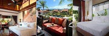 Presidential Suite, Premium Lagoon Pool View and Spa Villa at JW Marriott Khao Lak