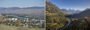 Landscapes of Kamloops & Mount Robson