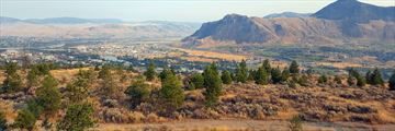 Panorama of Kamloops in the early morning