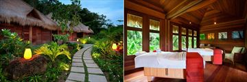 Kempinski Seychelles Resort Baie Lazare, Spa Exterior and Couples Treatment Suite