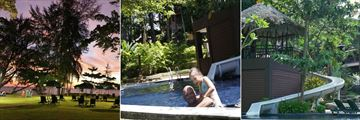 Khao Lak Merlin Resort, Lawn and Children's Play Area, Children's Pool and Waterslide