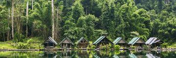 Khao Sok National Park villager huts