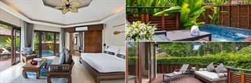 Garden View Plunge Pool Suite at Koh Samui Beach Resort