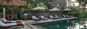 The Main Pool at Komaneka Ubud Monkey Forest