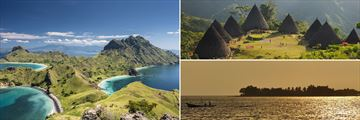 Komodo National Park and Wae Rebo Makassar Beach