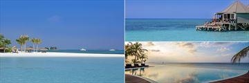 Kuredu Island Resort & Spa, Pool and Beach