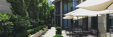 L'Hermitage Vancouver, Garden and Terrace