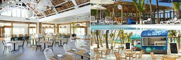 Benitier Restaurant, Seabreeze Bar and Taba-J at Lagoon Attitude