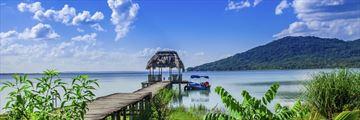 Lake Peten pier
