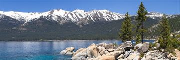 Beautiful scenery at Lake Tahoe