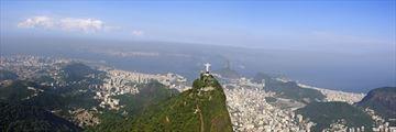 A panoramic view of Rio de Janeiro
