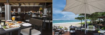 Layana Resort Koh Lanta, Tides Restaurant and Sundowner Bar & Lounge