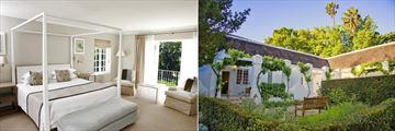 Le Franschhoek Hotel & Spa, Villa Bedroom and Suite Exterior