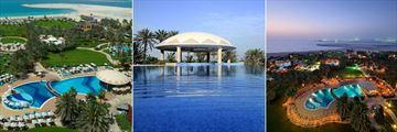 Le Royal Meridien, Resort View and Pool