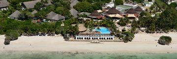 Aerial View of Leopard Beach Resort & Spa