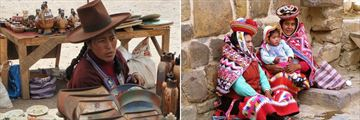 Locals in the Sacred Valley & The Peruvian Highlands