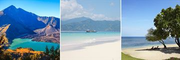 Scenery in Lombok & The Gili Islands