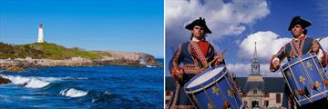 Louisbourg Scenery & Sights, Nova Scotia